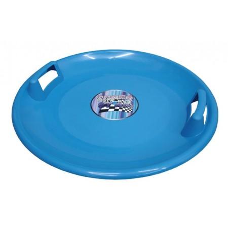 Dětský sáňkovací talíř 60 cm, modrý