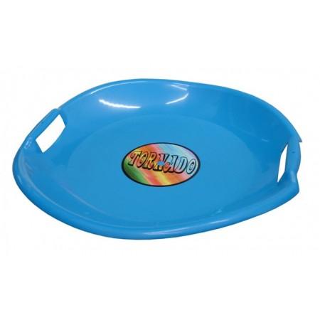 Dětský sáňkovací talíř Tornado, modrý