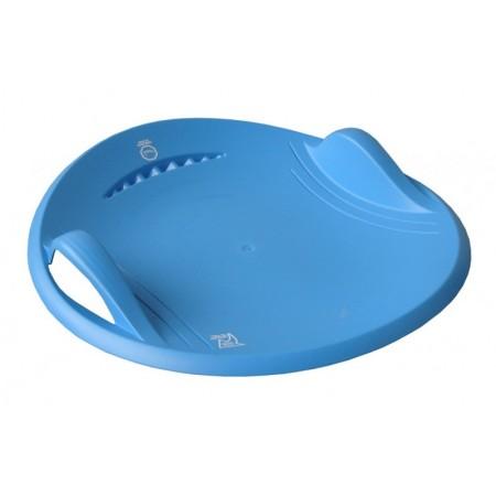 Plastový sáňkovací talíř 60 cm, modrý