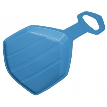 Dětská sáňkovací lopata plastová, modrá