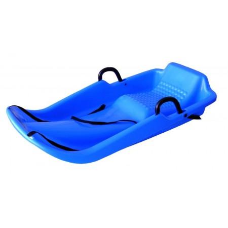 Dětské plastové boby Olympic s brzdami, modré
