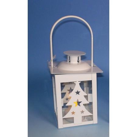 Ozobná svítící lucerna na baterii, LED dioda