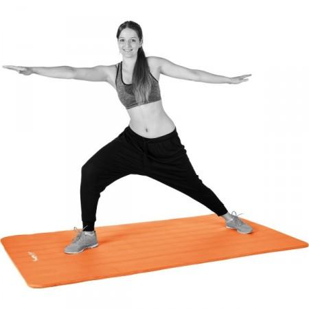 Pěnová podložka na cvičení a gymnastiku 190x60x1,5 cm oranžová