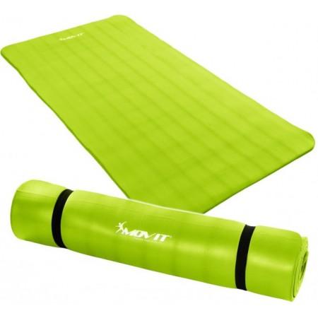 Podložka na fitness a cvičení, NBR pěna 190x100x1,5 cm, zelená