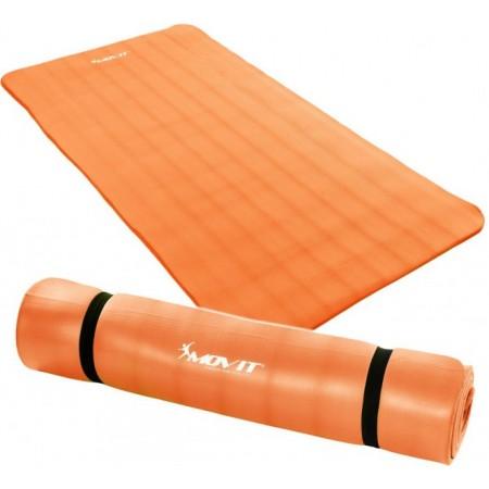 Podložka na jógu a cvičení 190x100x1,5 cm, oranžová