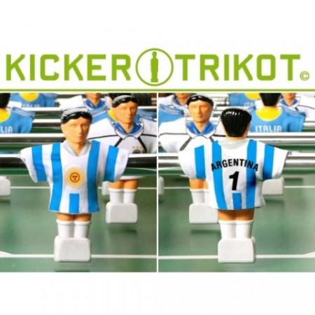 11 ks dresy pro stolní fotbal - Argentina