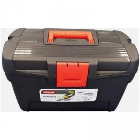 Plastový kufr na nářadí, vnitřní organizér, 23x39,5x22 cm