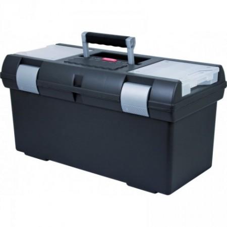Kufr na nářadí velký, 2 organizéry, 58x29x30 cm