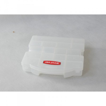 Plastový organizér- nastavitelné přihrádky, 26,4x7,1x26,7 cm