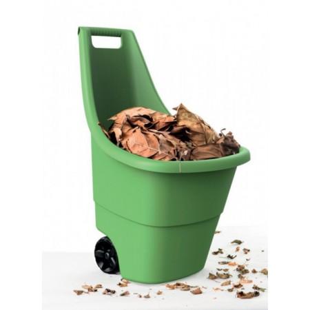Plastový vozík na zahradu 50 l, 2 kolečka