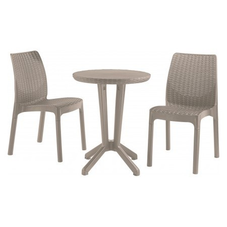 BISTRO SET - cappuchino
