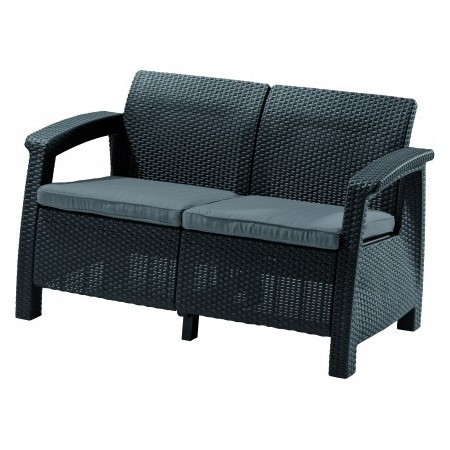 Sofa COFRU LOVE SEAT - antracit