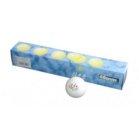 6 ks míčk na stolní tenis Happines* 40 mm, pro závodní hru