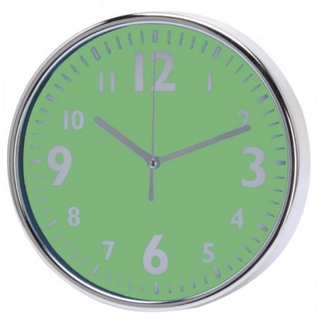 Nástěnné hodiny v klasickém designu 20 cm, zelené