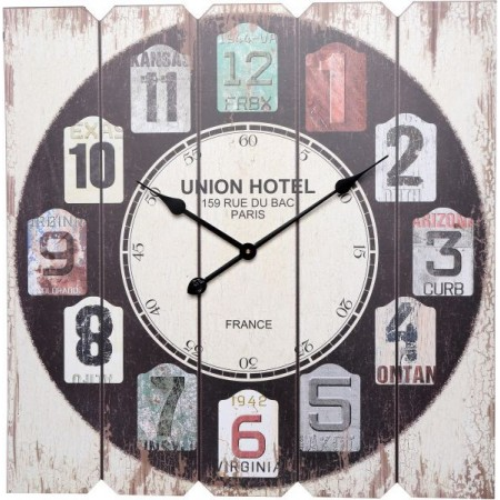 Velké nástěnné hodiny 68 cm, UNION HOTEL