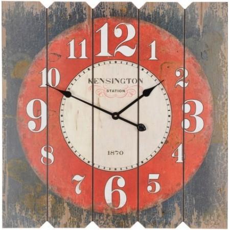 Velké čtvercové nástěnné hodiny 68x68 cm - KENSINGTON