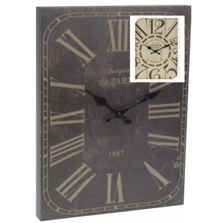 Nástěnné hodiny v historickém stylu 30x39 cm LONDÝN