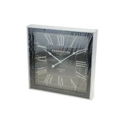 Čtvercové nástěnné hodiny 40x40 cm, ANTIK styl
