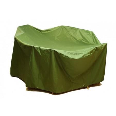 Plachta na zahradní nábytek zelená, 350 x 250 x 96 cm