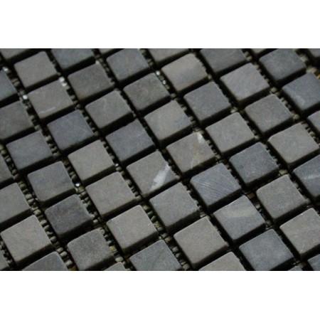 Obklad / dlažba- mozaika edý mramor, 1 m2
