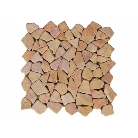 Obklad /dlažba - mozaika z leštěného mramoru 1m2