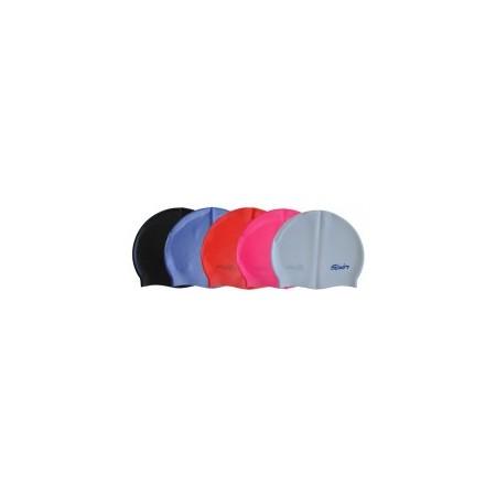 Juniorská silikonová čepice do vody, různé barvy