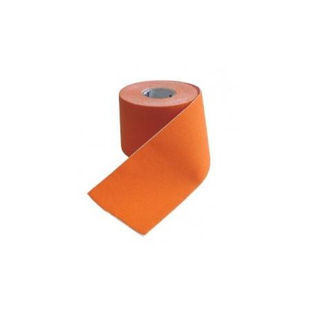 Kinesiologický tejp 5 cm x 5 m, oranžový