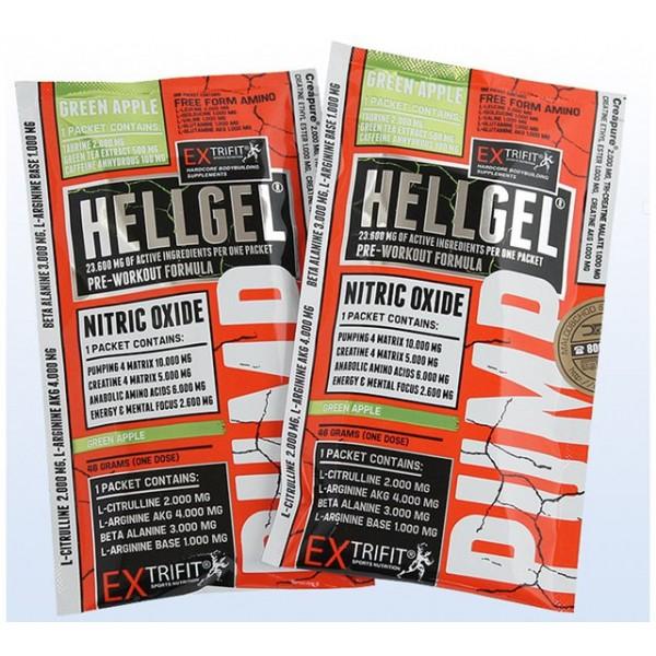Fitness výživa Extrifit Hell Gel 46 g - zelené jablko