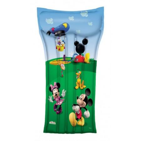 Dětské nafukovací lehátko, potisk Micky Mouse