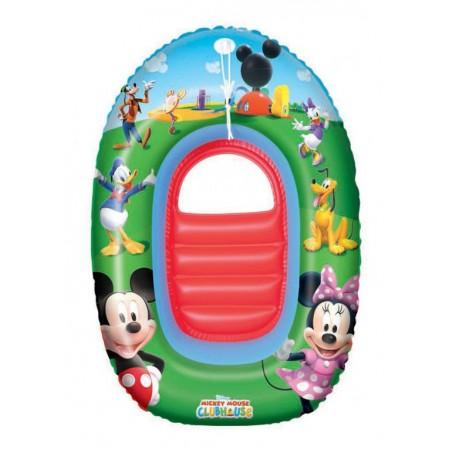 Dětský nafukovací člun s průzorem ve dně, potisk Micky Mouse
