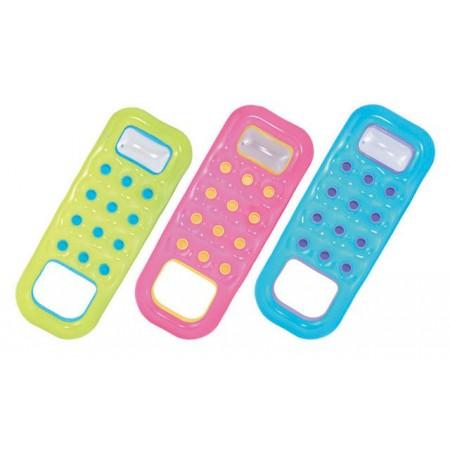 Barevné nafukovací lehátko s otvorem pro nohy, různé barvy