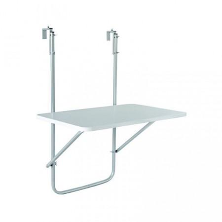 Skládací stolek na zábradlí, nosnost 10 kg