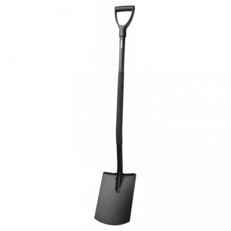 Kovový rýč rovný, uhlíková ocel