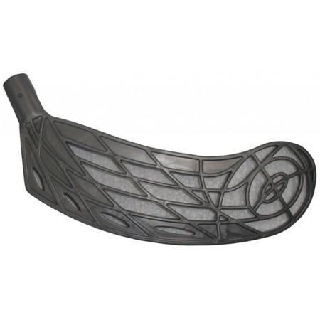 Plastová čepel na florbalovou hokejku, černá