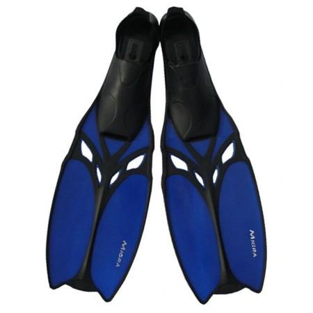 Potápěčské ploutve s gumovou botičkou, vel. 39-40, modré