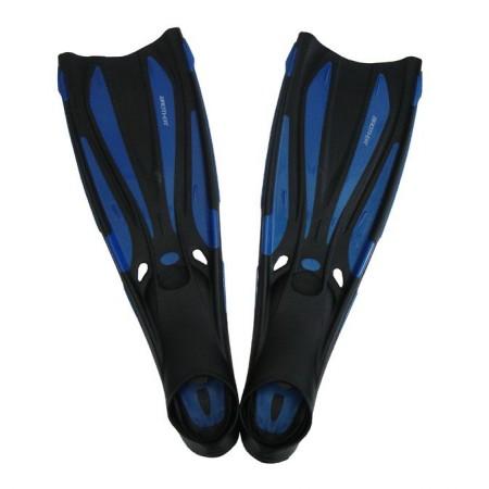 Potápěčské ploutve s gumovou botičkou, vel. 46-47, modré