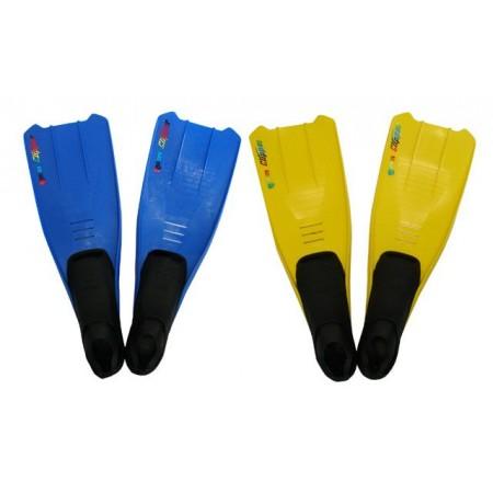 Potápěčské ploutve s gumovou botičkou, vel. 43-44, různé barvy