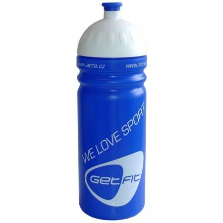 Plastová sportovní lahev na pití 0,7 l, modrá