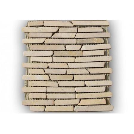 Obklad / dlažba, mozaika z přírodního mramoru, 1 m2