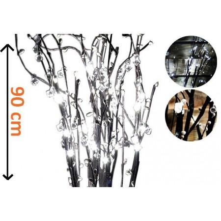 5 ks ozdobná svítící větvička venkovní / vnitřní, 90 cm