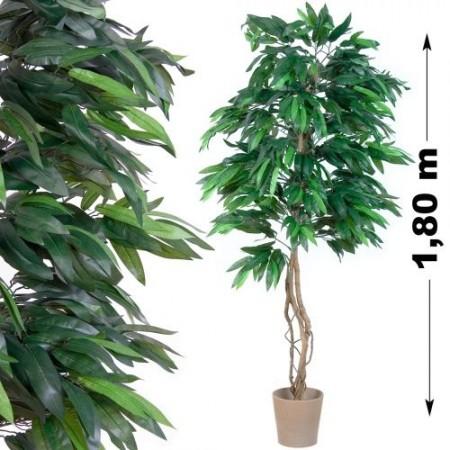 Umělá květina jako živá - velké mango vysoké 180 cm