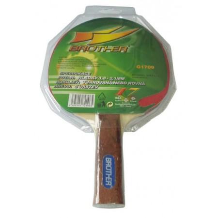 Pingpongová pálka - mechová, pro rekreační hru