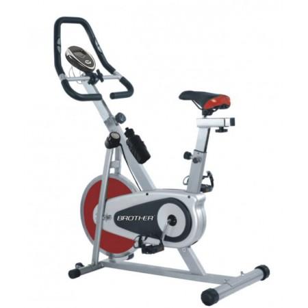 Cyklotrenažer s magnetickou brzdou BC4620, nosnost 120 kg
