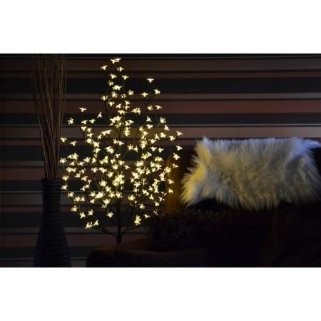 Umělý světelný strom venkovní / vnitřní, LED diody, 1,5 m
