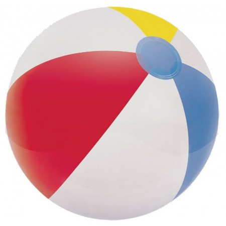 Barevný nafukovací míč k vodě 51 cm