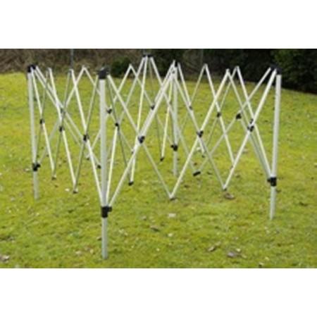 Náhradní konstrukce pro pavilony a zahradní stany 3x3 m
