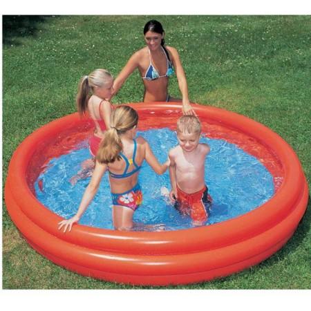 Dětský nafukovací bazén, 3 komory, různé barvy, 152x30cm