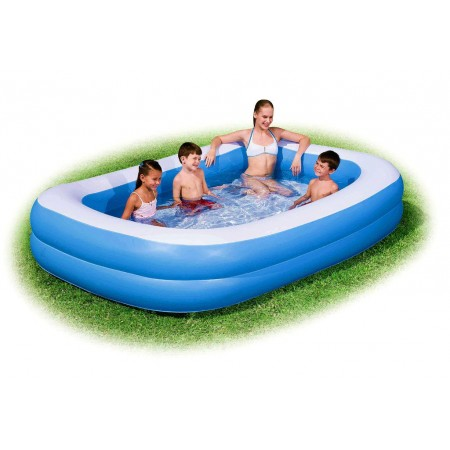 Velký obdélníkový nafukovací bazén 201 x 150 cm