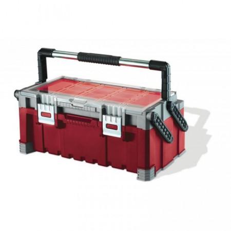 Plastový kufr na nářadí s organizérem 56,7 cm