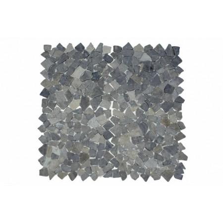 Obklad / dlažba - mozaika z přírodního kamene šedá, 1 m2